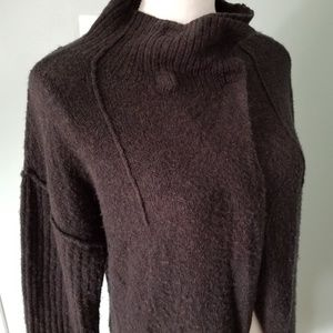 Free People Black Sweater-size small